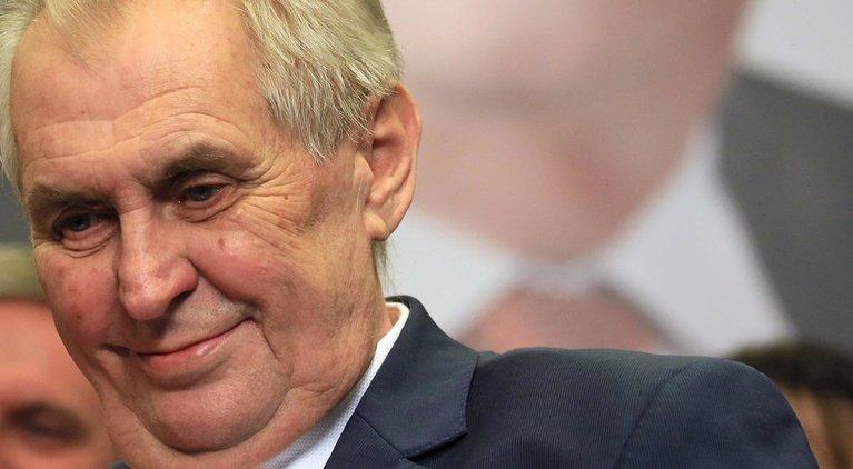 REPUBLIQUE TCHEQUE -Le président tchèque sortant Milos Zeman a été réélu file6ym21pi8u151h1grgf30