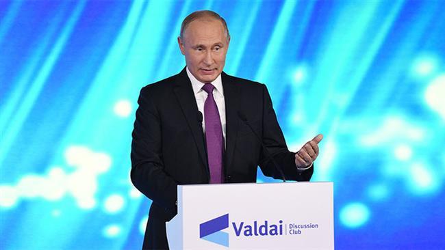 RUSSIE Le président russe Vladimir Poutine à Sotchi, le 19 octobre 2017. 9e9273d0-bc12-42df-9a9b-cf46fe0b7190