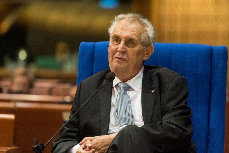 TCHEQUE PRESIDENT SORTANT Milos Zeman, 3714281-img-zeman-v0