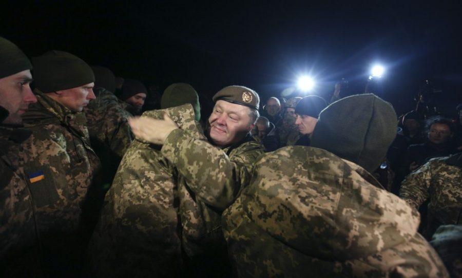 UKRAINE L'échange a eu lieu près de Horlivka occupée dans la région de Donetsk, sur le point de contrôle de «Mayorske».da78c18f13d43add365559dc9b38b486_1514401751_extra_large