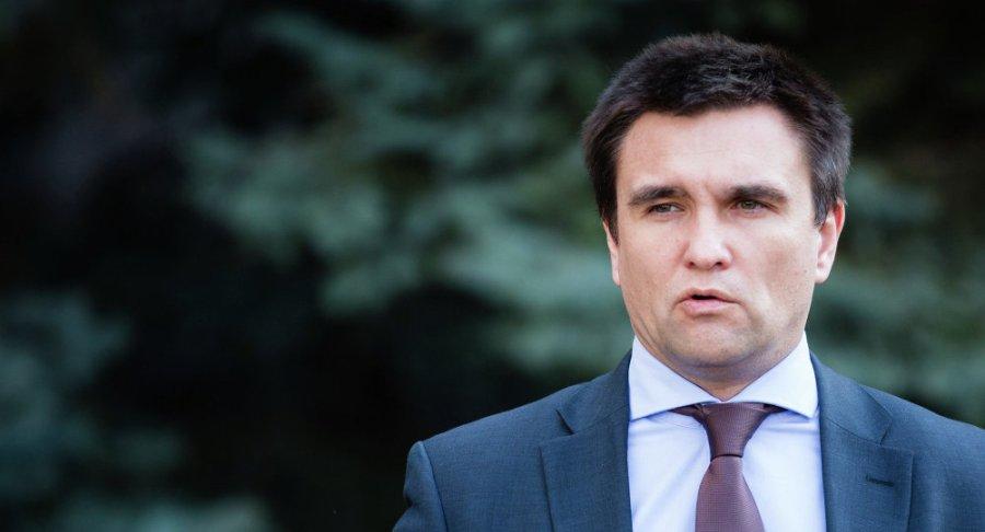 Ukraine Ministre ukrainien des Affaires étrangères Pavel Klimkine - 1018336633