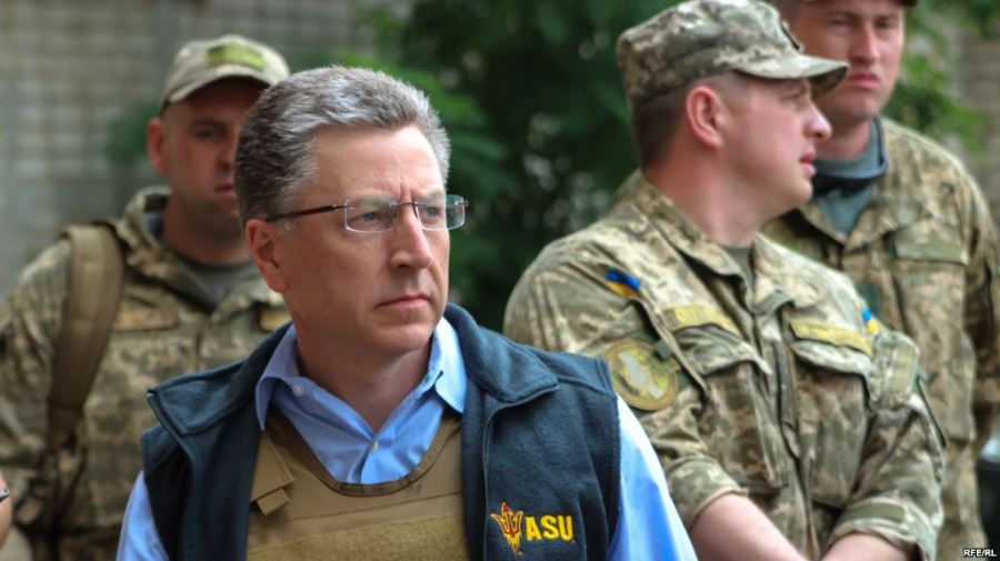 USA Kurt Volker visits Avdeyevka, a city situated north of Donetsk in eastern Ukraine, July06E57FE4-AD89-4393-ADC8-654584DE15F2_w1023_r1_s