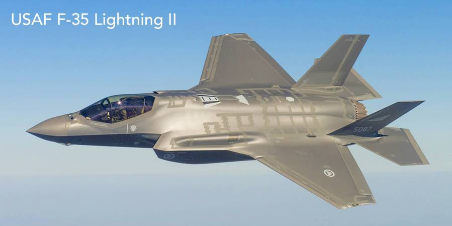 USA usaf-f-35-lightning