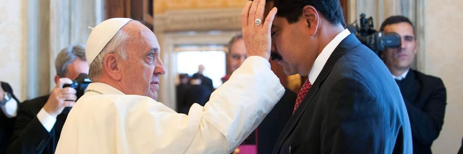 VENEZUELA Maduro NICOLASlatin-pulse_161107_pope-francis-nicolas-maduro_1920x1080