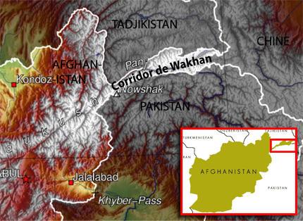 AFGANISTAN 2211-Carte-Wakhan-430