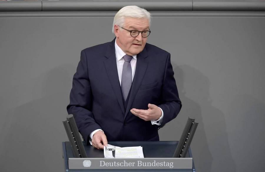 ALLEMAGNE l_ancien ministre des Affaires étrangères Steinmeier BN-SB521_gerpre_GR_20170212103009