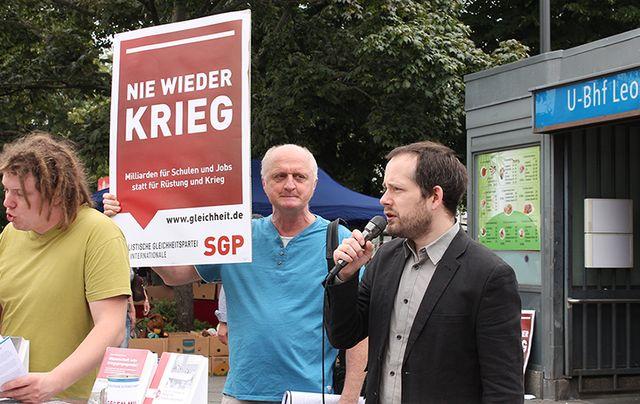 ALLEMAGNE Sozialistische Gleichheitspartei image