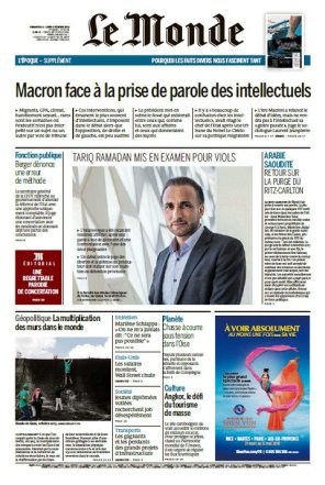 FRANCE JOURNAL LE MONDE cug3