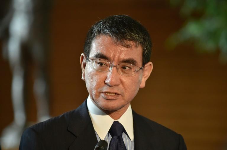 JAPON Ministre japonais des Affaires étrangères Taro Kono afp-42c18ada7e2debbe329a61b45d80345760ea4158