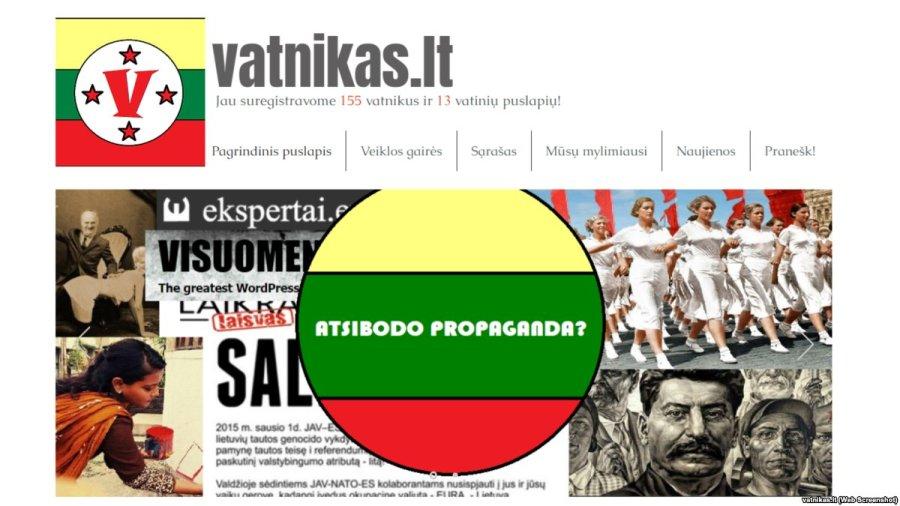 LITUANIE site internet lituanien vatnikas. ltDVg41rEWAAAIhR2