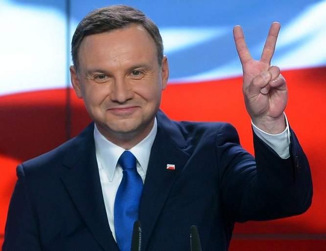 POLOGNE Andrzej Duda Polands-New-President