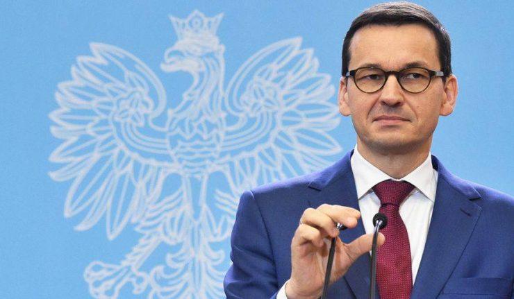pologne le premier ministre polonais Mateusz Morawiecki 25994876_1740779069564769_5066192103842669899_n-740x431