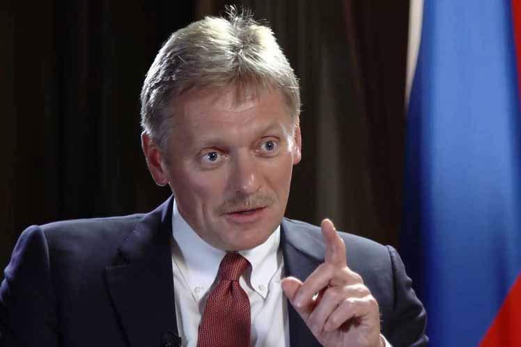 RUSSIE Dmitri-Peskov Dmitri Peskov, porte-parole du président russe