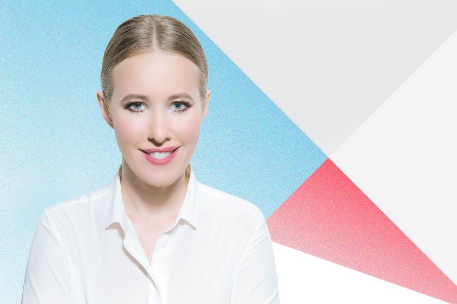 RUSSIE Ksenia Sobtchak, candidate à la présidentielle russe,ksenia