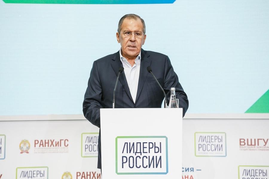 russie lavrov 08.02.2018 Сочи, Лидеры России