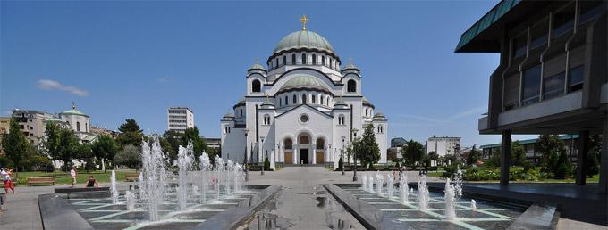 SERBIE la cathédrale Saint-Sava. Belgrade_St_Sava_Temple