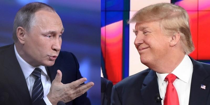 USA RUSSIE poutine-trump