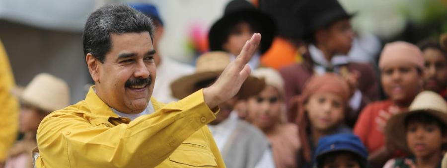 VENEZUELA Le Président Nicolas Maduro.14293818