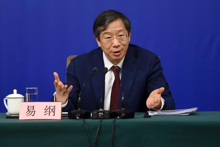 CHINE Directeur de la Banque de Chine Yi Gang, Yi-Gang-9-2018d-conference-presse-Pekin_0_728_485