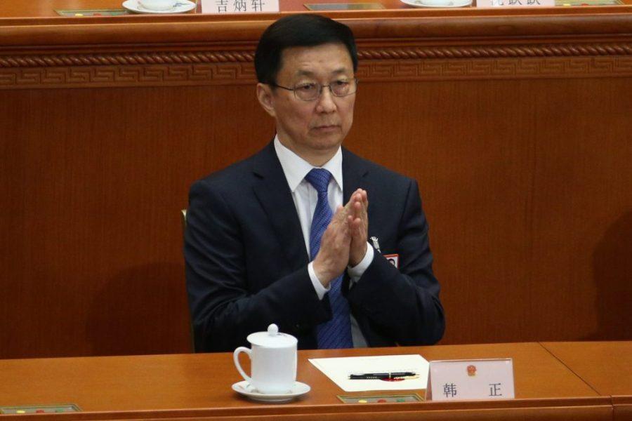 CHINE Han Zheng, 63 ans, désormais n°2 du gouvernement Han-Zheng-1024x683