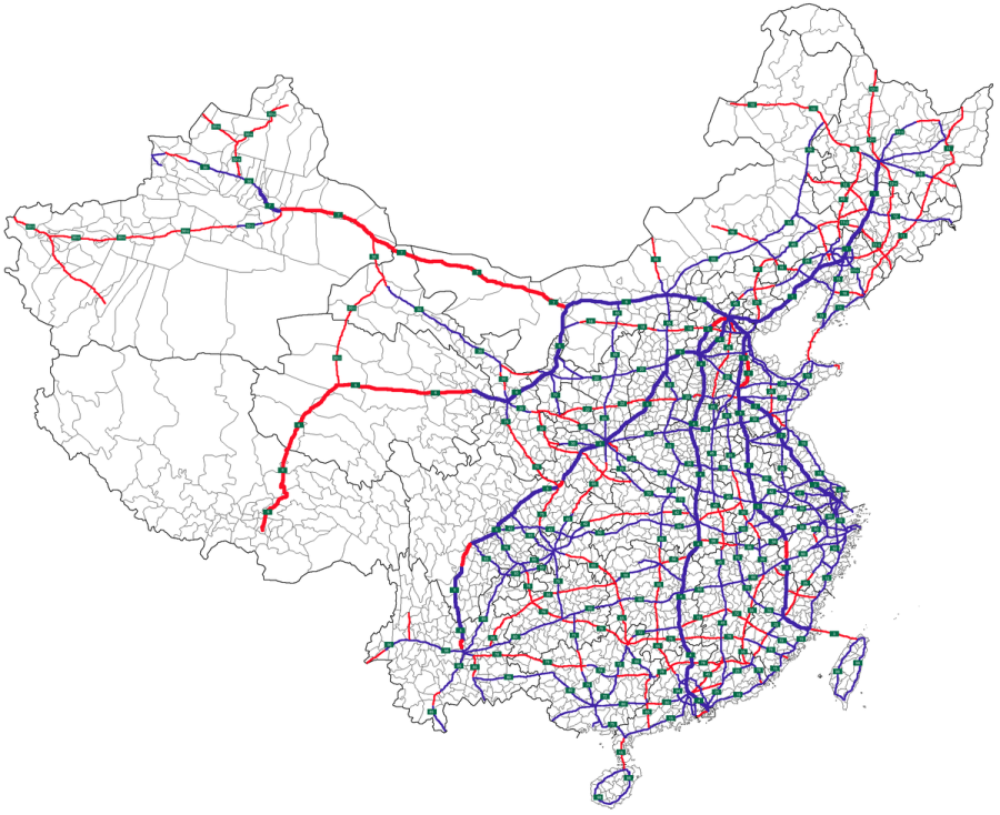 CHINE ROUTE AUTOROUTES 1200px-Map_of_NTHS_Expressways_of_China