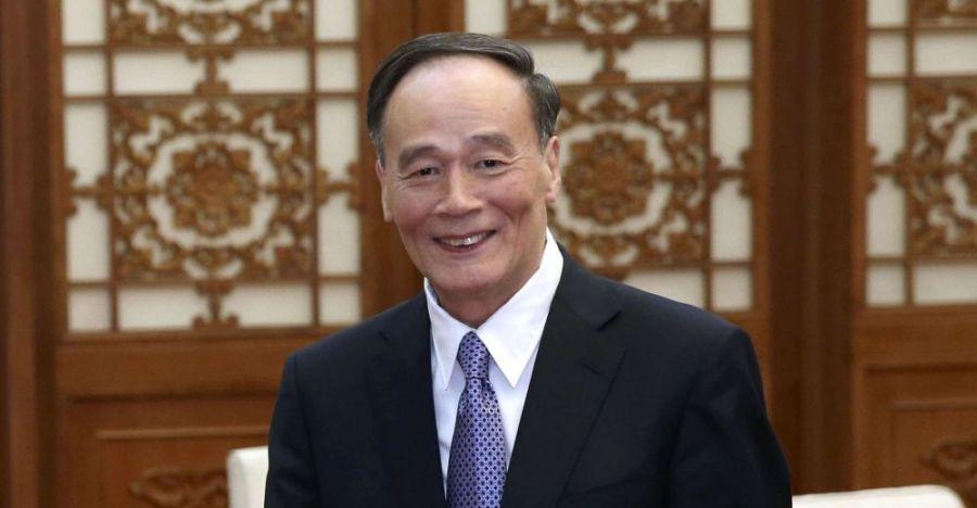 CHINE Wang Qishan wang_qishan_sipa