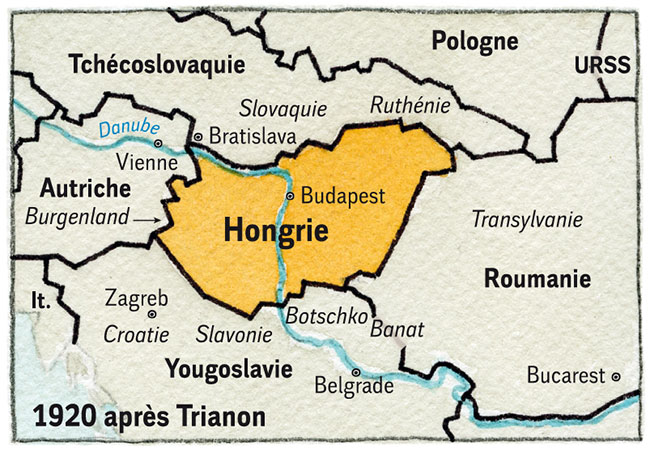 Hongrie 2 1920 Carte-Hongrie-3-V2