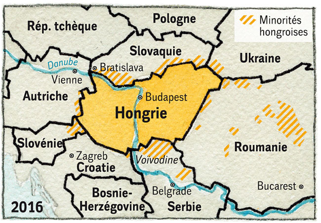 Hongrie 4 2005 Carte-Hongrie-5-V3