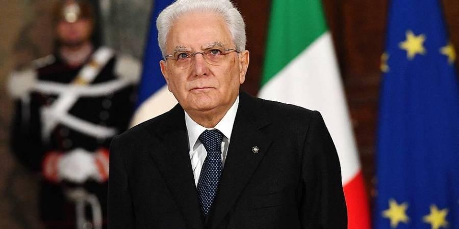 Italie Président italien Sergio Mattarella 5a9f7d12cd7063d567163ac0