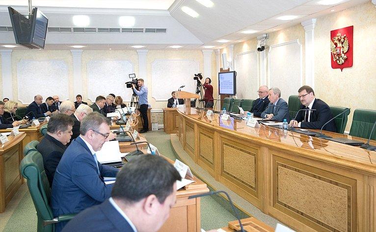 la Commission temporaire du Conseil de la Fédération pour la défense de la souveraineté de l_État et sur la prévention de l'ingérence étrangère dans les affaires intérieures