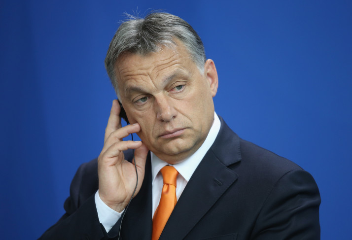 Viktor Orban Visits Berlin
