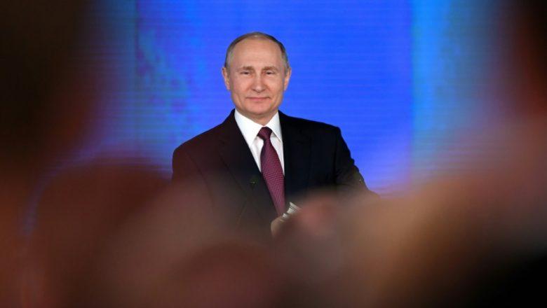 RUSSIE discours du président Poutine devant les corps constitués de la Fédération de Russie le 1er mars 2018 15199086076143-780x440