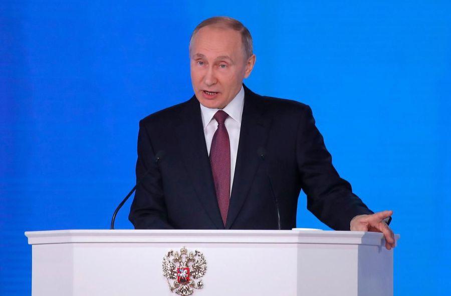RUSSIE discours du président Poutine devant les corps constitués de la Fédération de Russie le 1er mars 20187585032_b360977c-1d3a-11e8-8bb1-4d8934c3f6a9-1