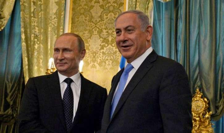 russie israel netanyahou-poutine-moscou