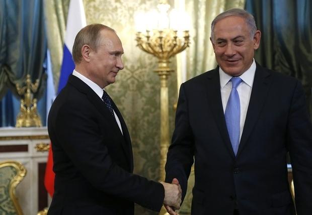 russie israel putin