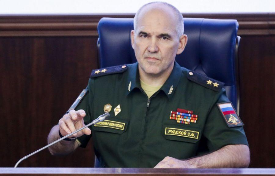 RUSSIE le général Sergueï Roudskoï. image