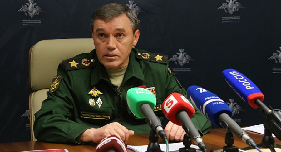 RUSSIE le général Valeri Guerassimov 1022987084