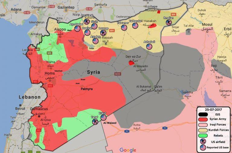 SYRIE ET OCCUPATION PAR USA carte-syrie-M-Fahd-Z-Adra-768x506