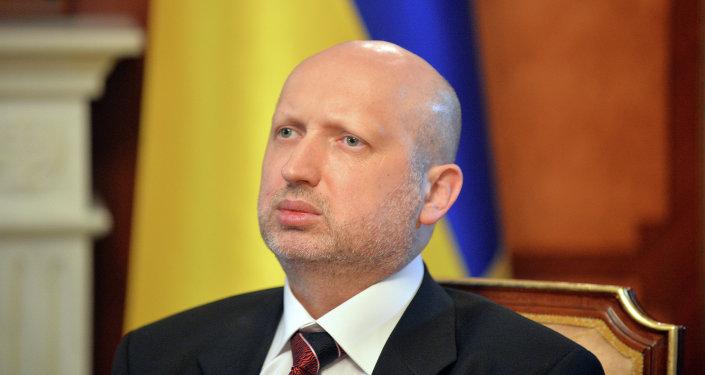 UKRAINE Alexandre Tourtchinov Président par intérim ,1016159883