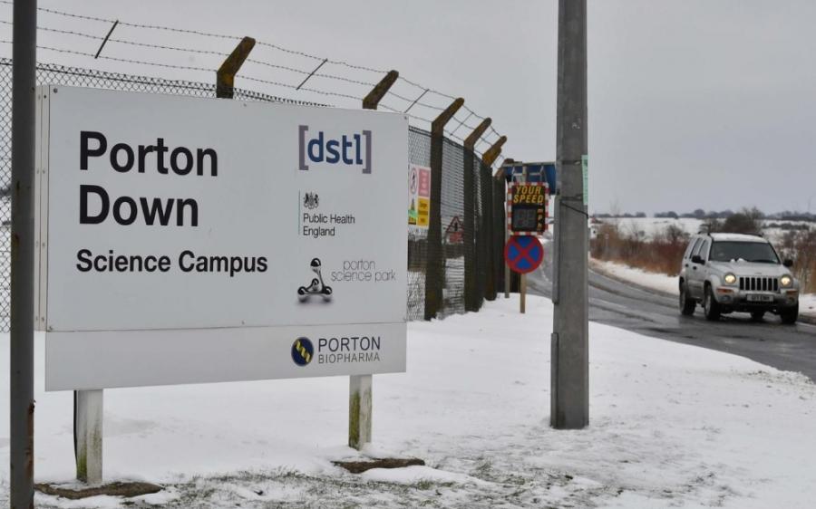 ANGLETERRE laboratoire militaire britannique de Porton Down 7644297_d205fe0a-3762-11e8-9417-398e8b0fa038-1_1000x625