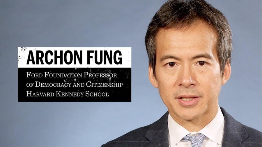 Archon Fung de la Harvard Kennedy School,maxresdefault