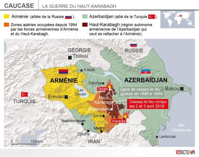 azerbaidjan armenie haut-karabakh.troisieme-jour-de-combats-entre-larmenie-et-lazerbaidjan_0