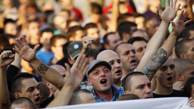 BULGARIE Des manifestations contre l'impunité des Roms ont lieu quotidiennement en Bulgarie bulgarie-manifestation-plovdiv-roms_789011