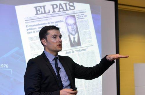 ESPAGNE David Alandete, rédacteur en chef adjoint de El País. _S3X4893