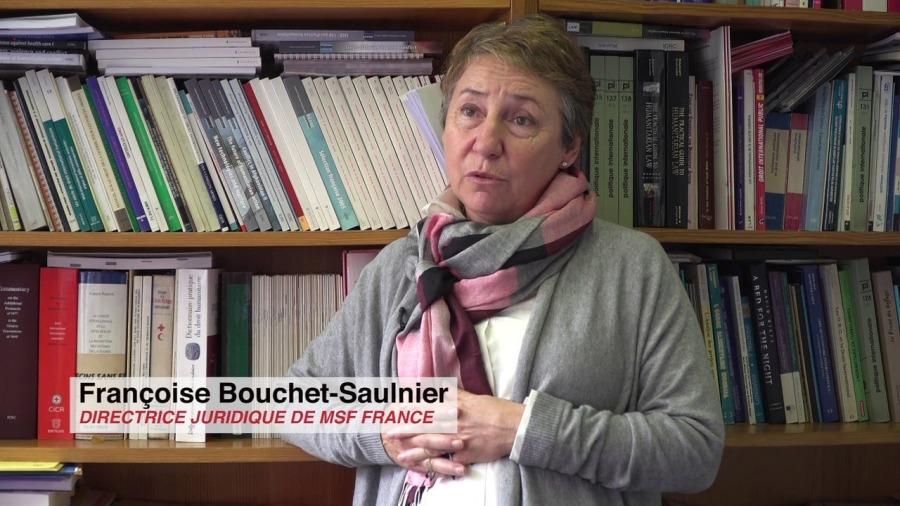 france Françoise Saulnier, directrice juridique de Médecins sans frontières (MSF) 1280x720-Imw