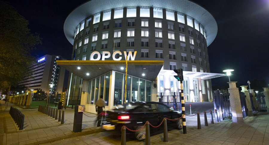 OIAC Le siège de l'OIAC à La Haye 1030987980