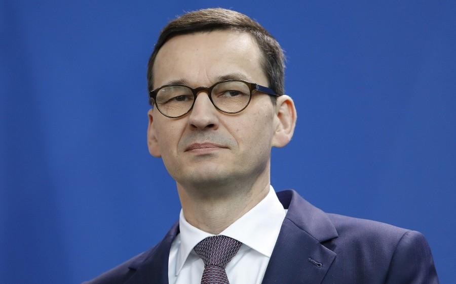 POLOGNE premier ministre Mateusz Morawiecki poland-pm-e1519155453365
