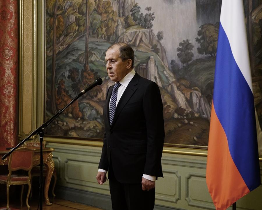 RUSSIE SERGUEI LAVROV 1