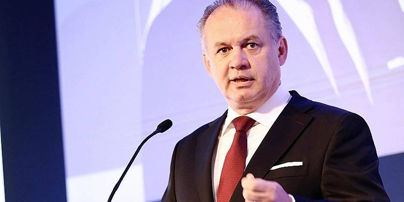 SLOVAQUIE Le président slovaque Andrej Kiska 56a31f873570ed389543a56c
