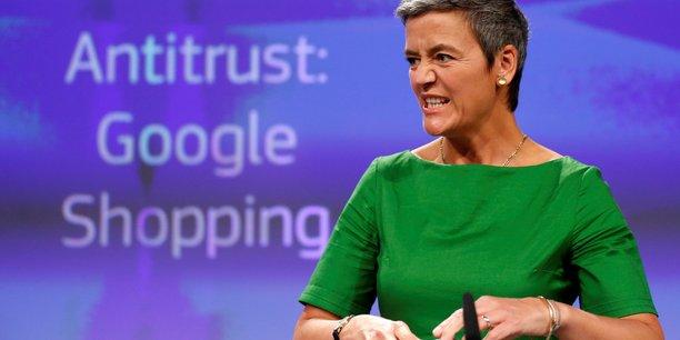 UE Margrethe Vestager, la commissaire européenne à la Concurrence google-antitrust-commission-europeenne-margrethe-vestager